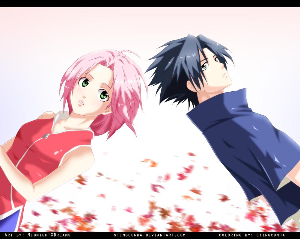 Sakura and Sasuke  SasuSaku by StingCunha on DeviantArt