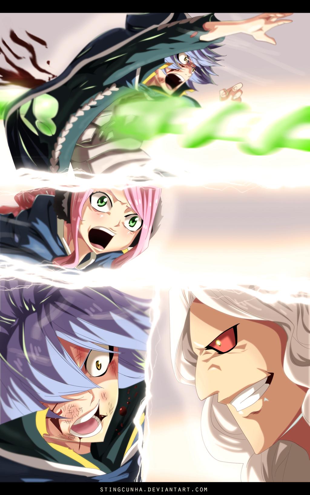 Fairy Tail 368 - Jellal's death by StingCunha