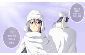 Bleach 569 - Kuchiki Rukia and Kuchiki Byakuya by StingCunha