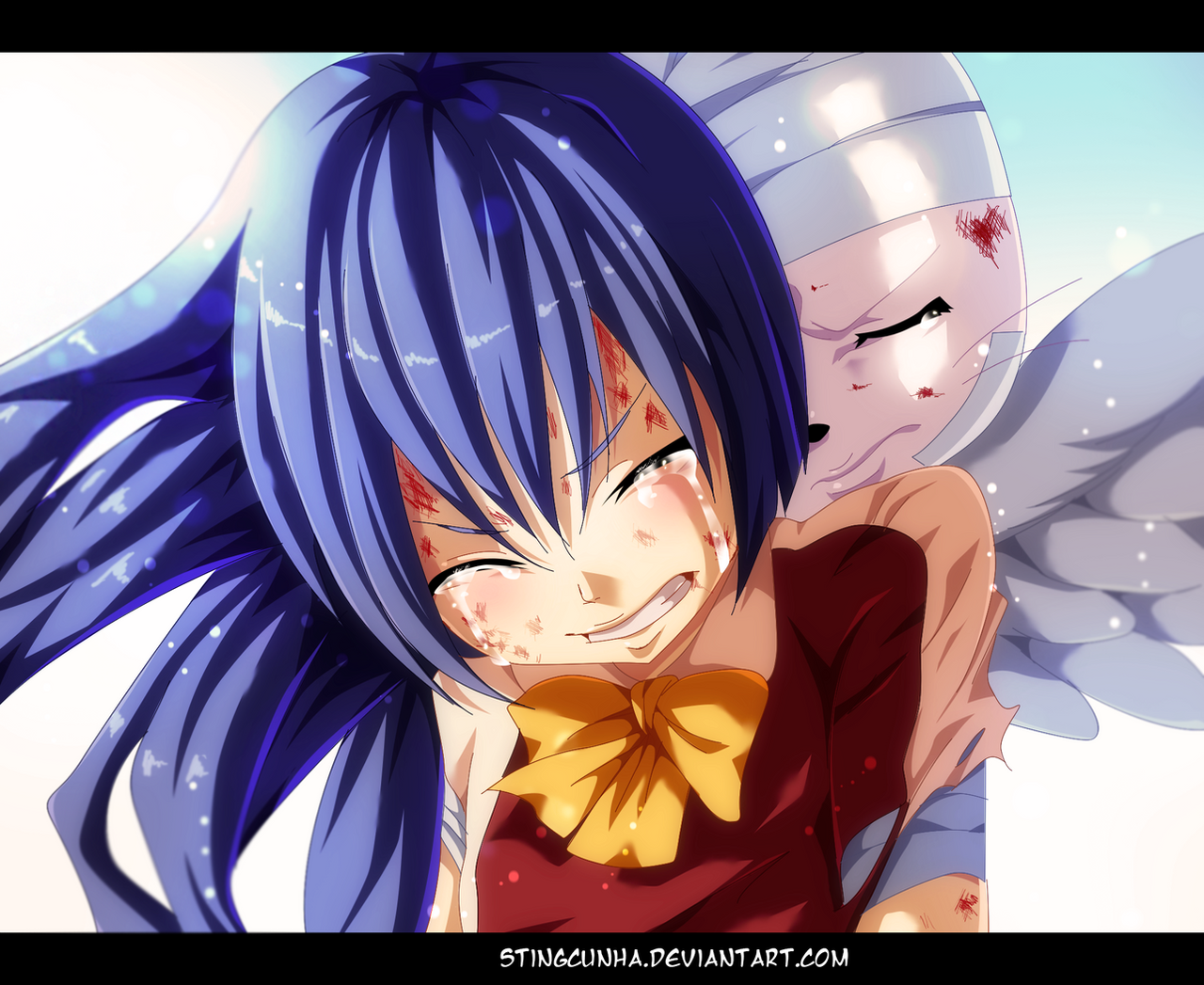 Fairy Tail 387 - Wendy and Charles by StingCunha