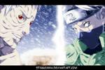 Naruto 686 - Obito and Kakashi