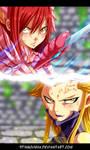 FAIRY TAIL - Erza vs Kyouka