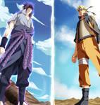 Naruto 694 - Sasuke vs Naruto