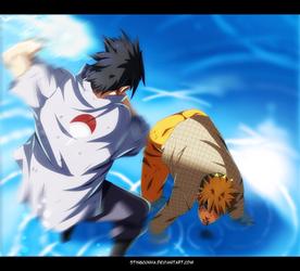 Naruto 697 - Sasuke and Naruto by StingCunha
