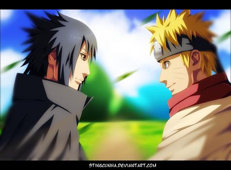 Naruto 699 - Sasuke is back to Konoha