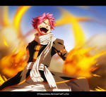 Fairy Tail 430 - Natsu on fire!