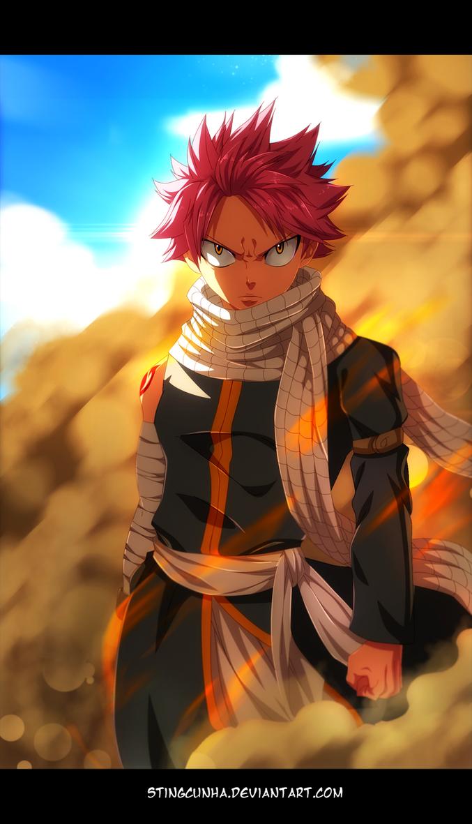 Fairy Tail 435 - Badass Natsu By StingCunha On DeviantArt