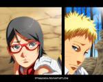 Naruto 700.5 - Sarada and Naruto