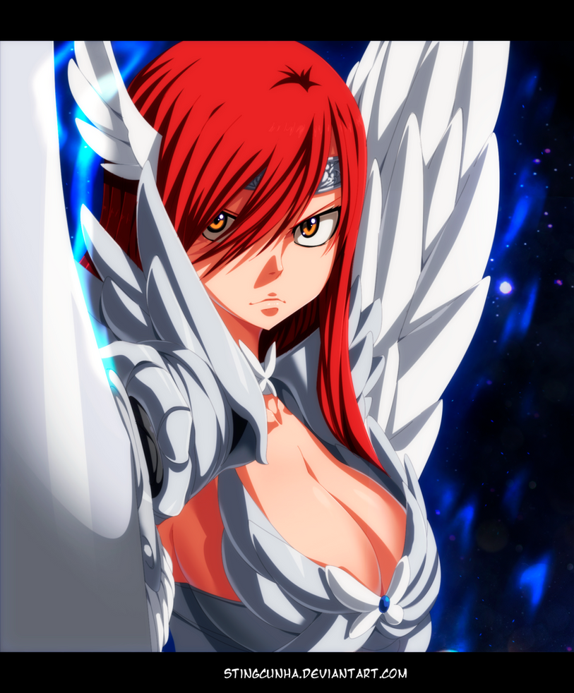 Erza Scarlet Wallpaper: Erza Heaven Wheel Armor By StingCunha On DeviantArt