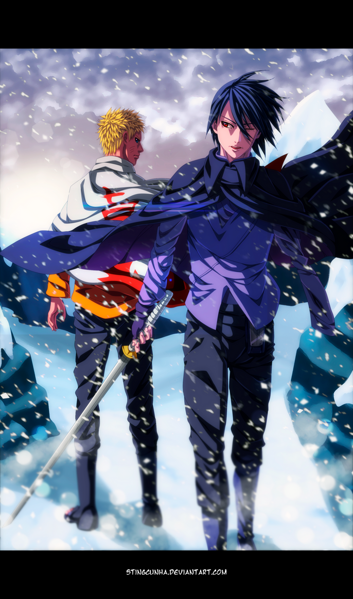 Naruto and Sasuke by StingCunha