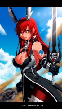 Erza Scarlet New Armor