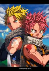 Dragon Slayers - Sting and Natsu by StingCunha