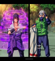 Sasuke vs Kakashi  - Naruto Shippuden by StingCunha