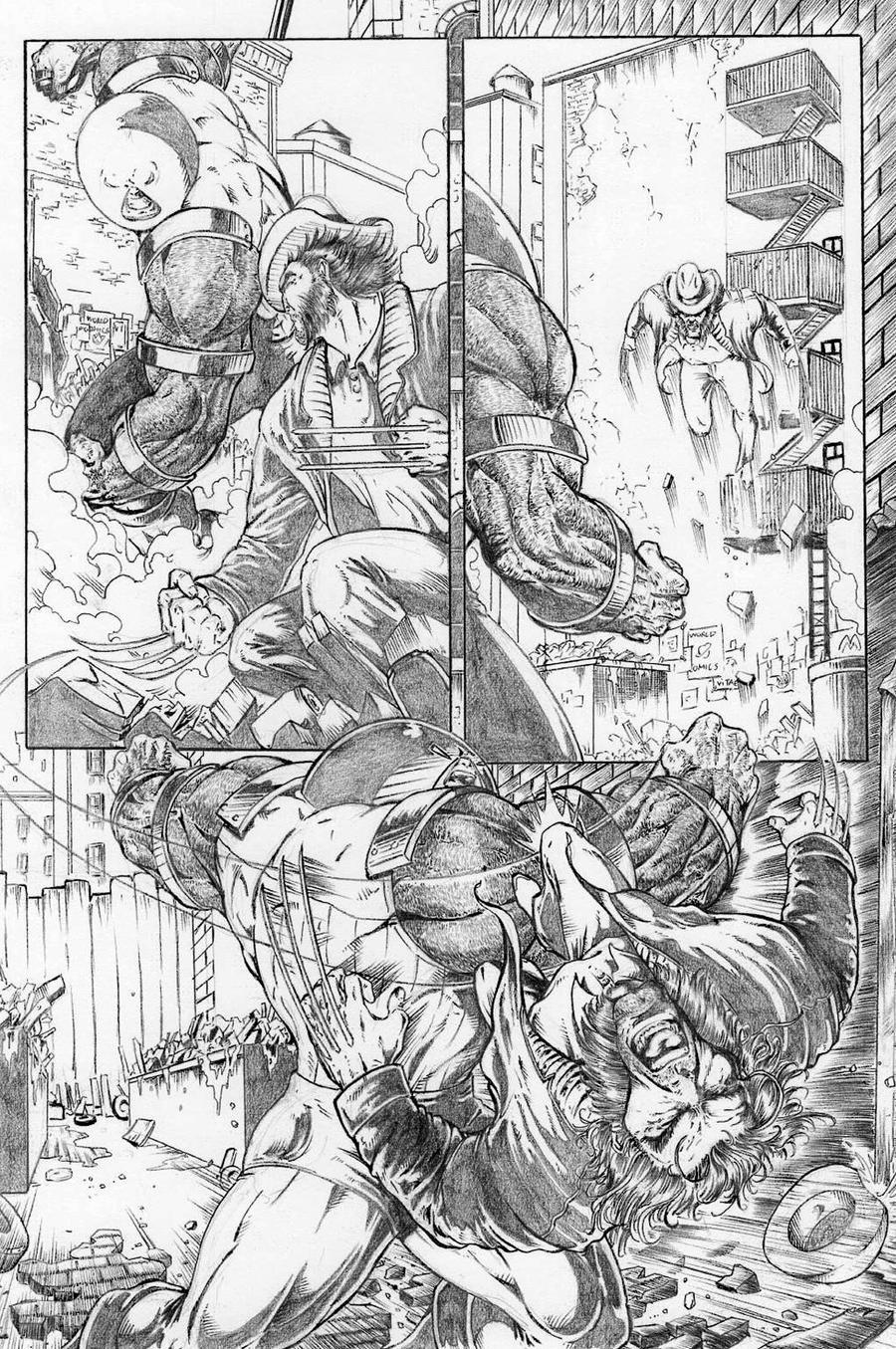 Wolverine 2 by gleidsonaraujo