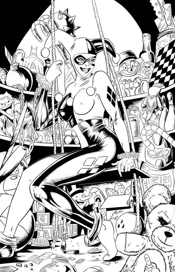 Harley Quinn by gleidsonaraujo