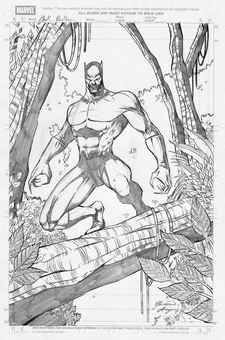 Black Panther by gleidsonaraujo