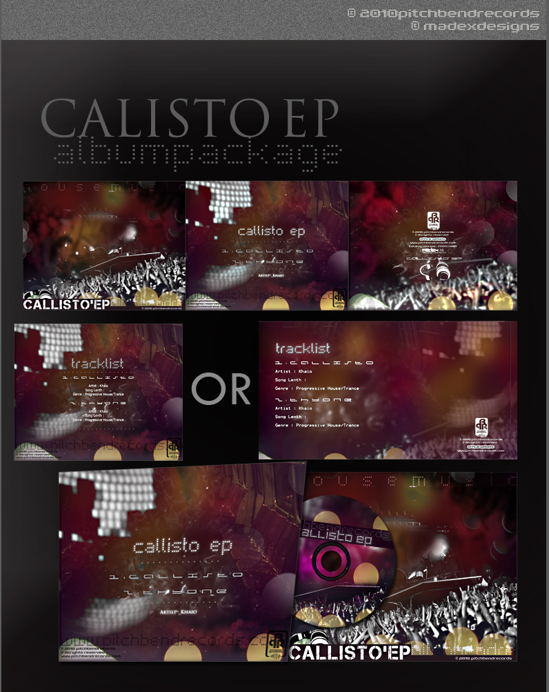 CALISTO EP' - Album Art by madexdesigns