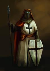 Knight.. by TeslaRock