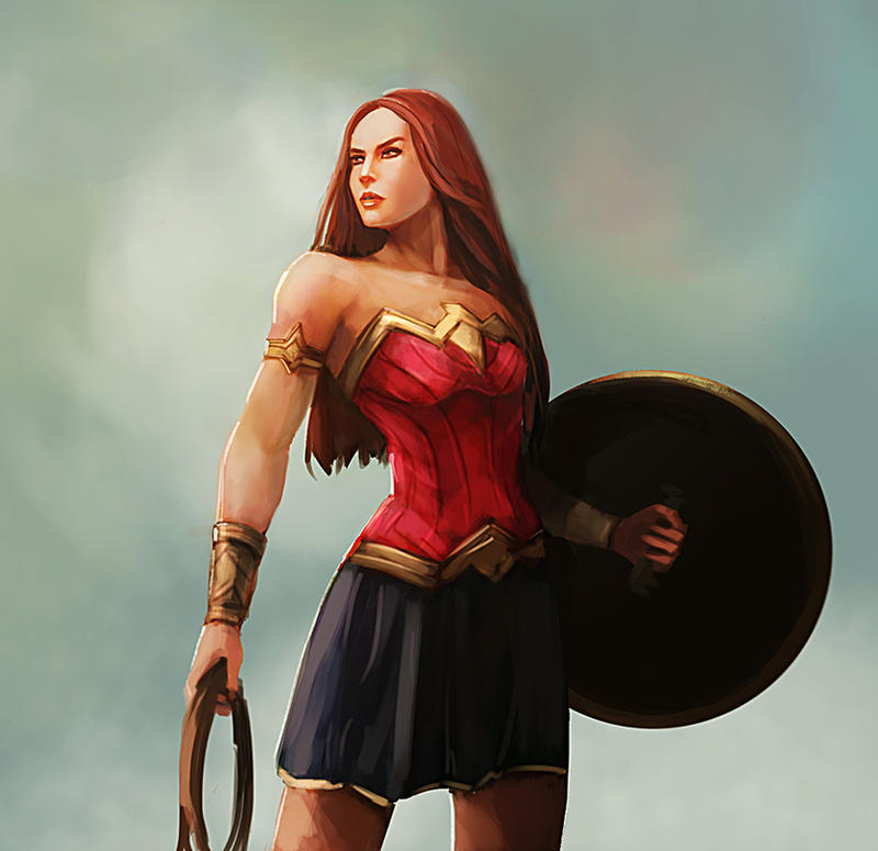 Wonder Woman by TeslaRock