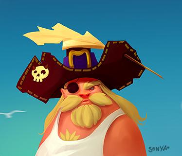 captain S by TeslaRock