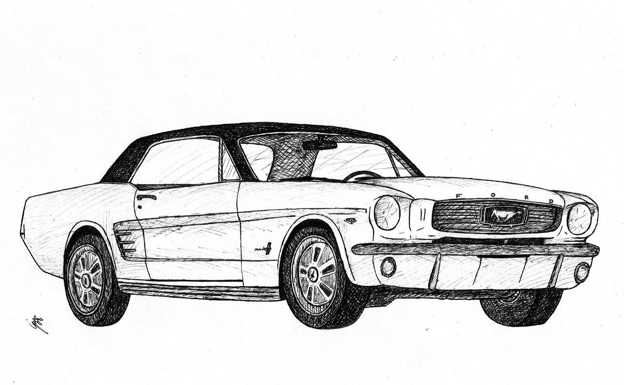 1966 mustang by gjones1 on deviantart