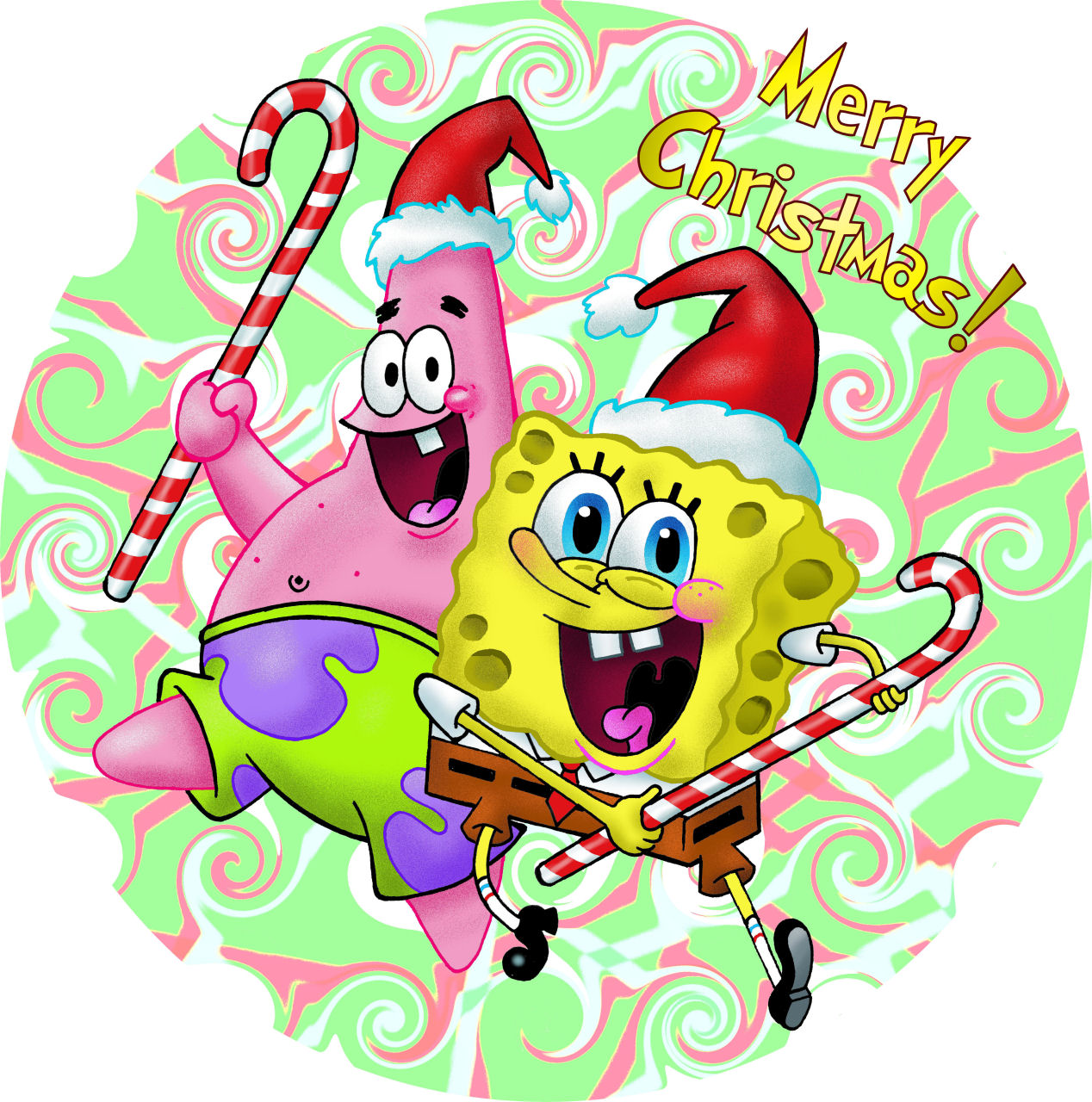 Spongebob Christmas by gjones1 on DeviantArt A4d03iVP