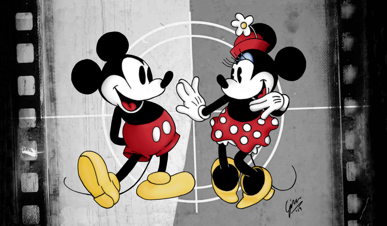 Mickey And Minnie By Gjones1 On Deviantart