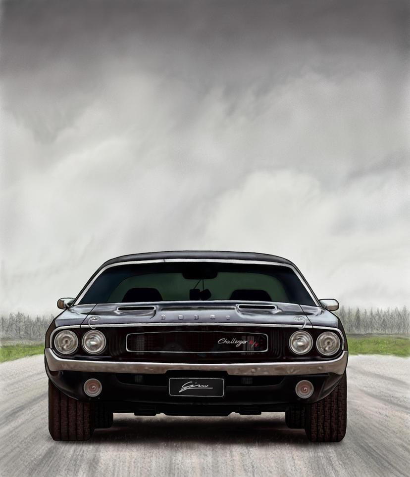 Dodge Challenger by gjones1