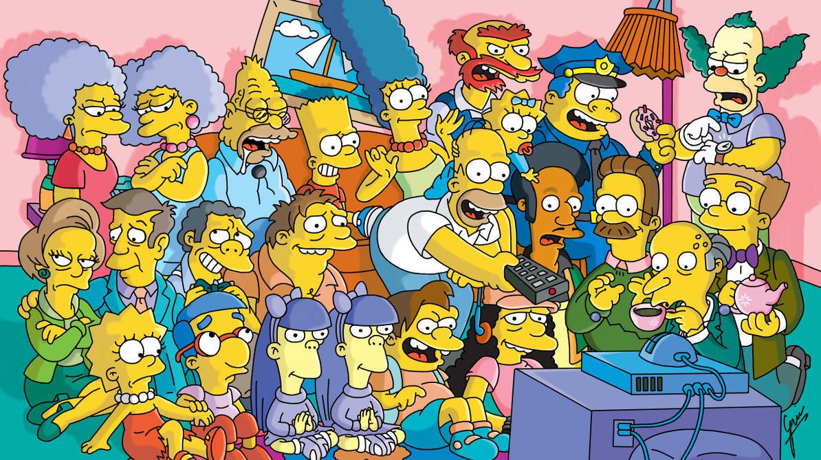 The Simpsons by gjones1