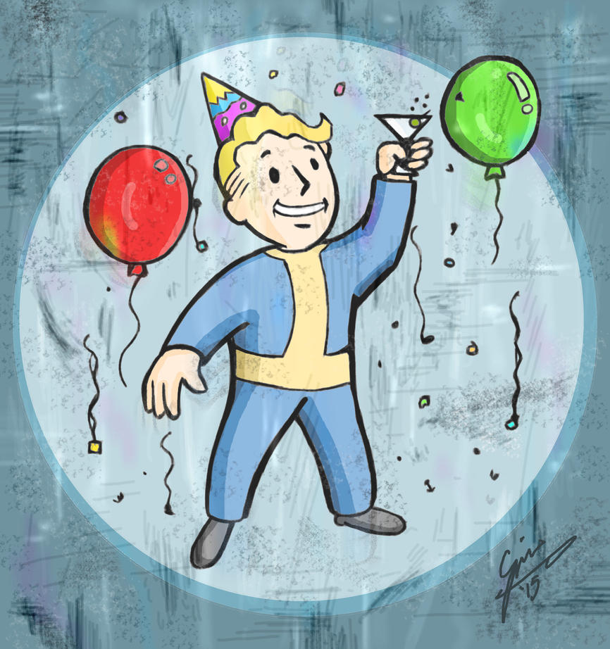 Pip-Boy Birthday by gjones1