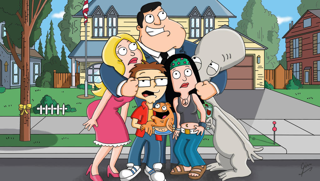 American Dad by gjones1