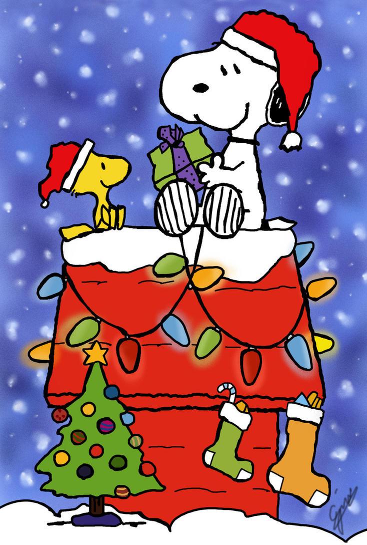 Snoopy Christmas by gjones1