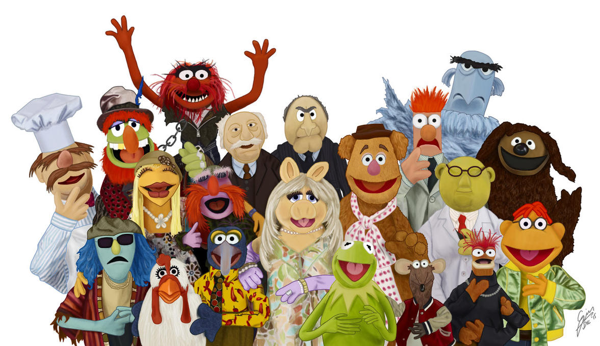 The Muppets by gjones1