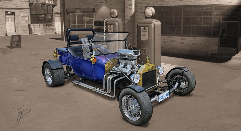 Model T Hot Rod by gjones1 on DeviantArt
