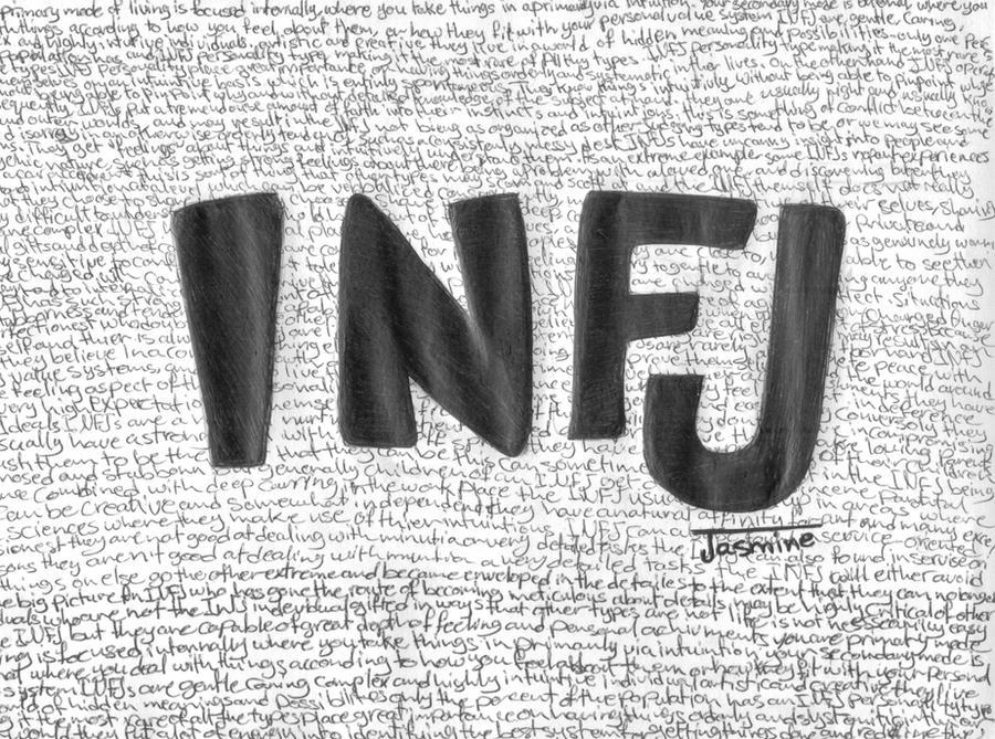 INFJ by XoxJasmineXox on DeviantArt