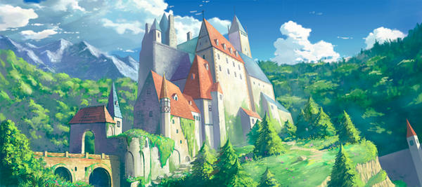 The Castle by phoenix-feng