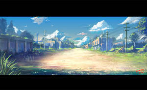Street in memory2 by phoenix-feng