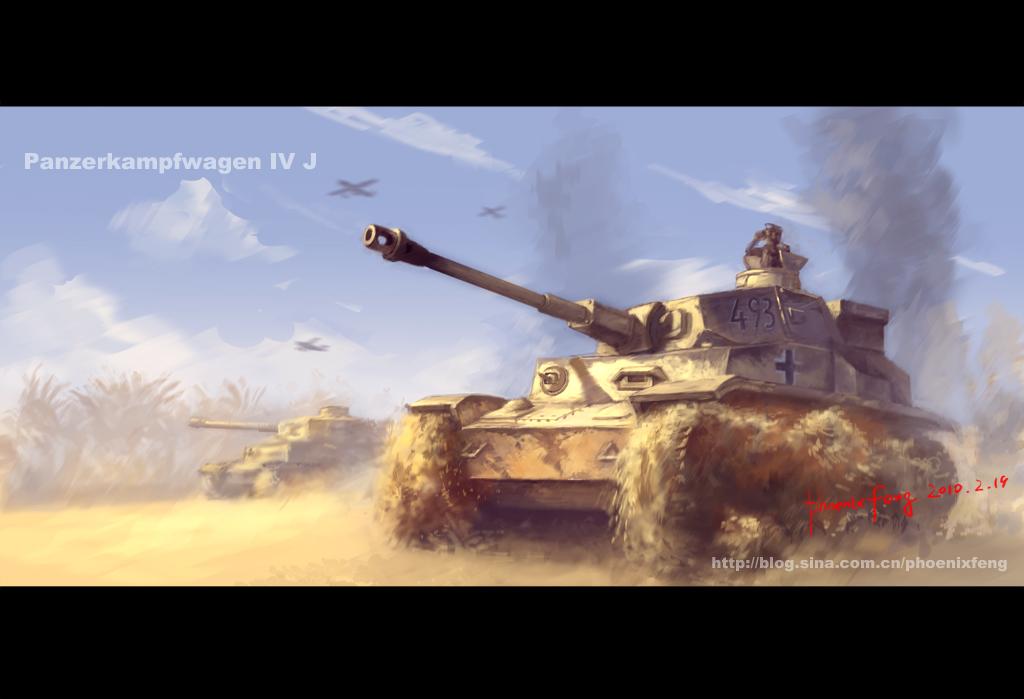 Panzerkampfwagen IV J by phoenix-feng