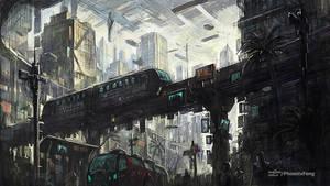 High technology city selone 03