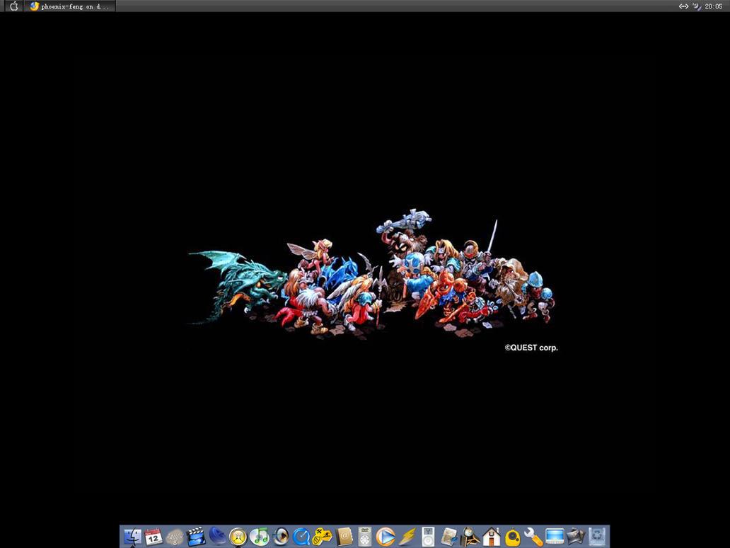 My Desktop by phoenix-feng