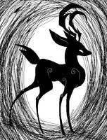 deer by gobixhoukou