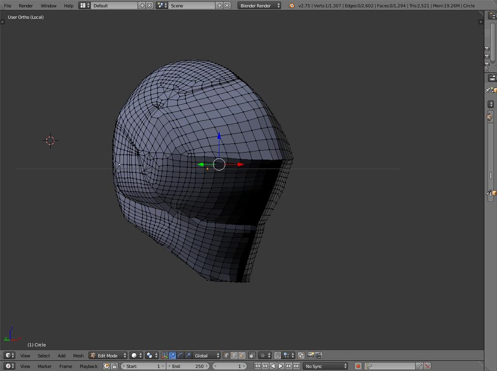 Helmet.blend by PhantomX999