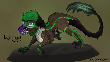 Shading and coloring testing 3 Lockhead by UmbraScythe