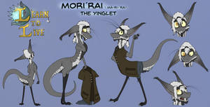 Morirai reference sheet
