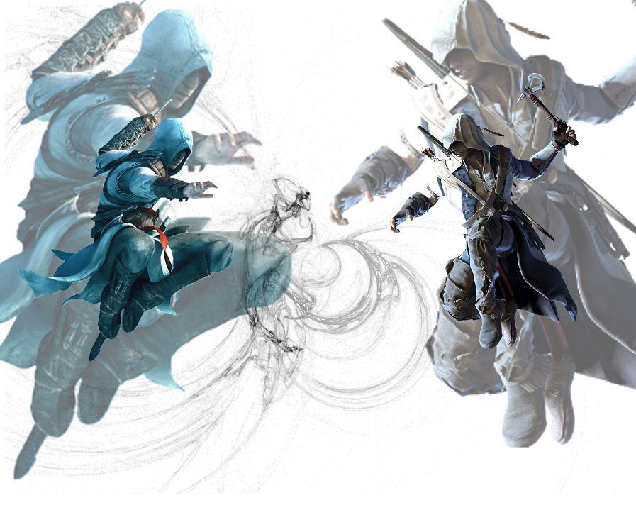 altair_vs__connor_by_keeftheboss-d5u1r19
