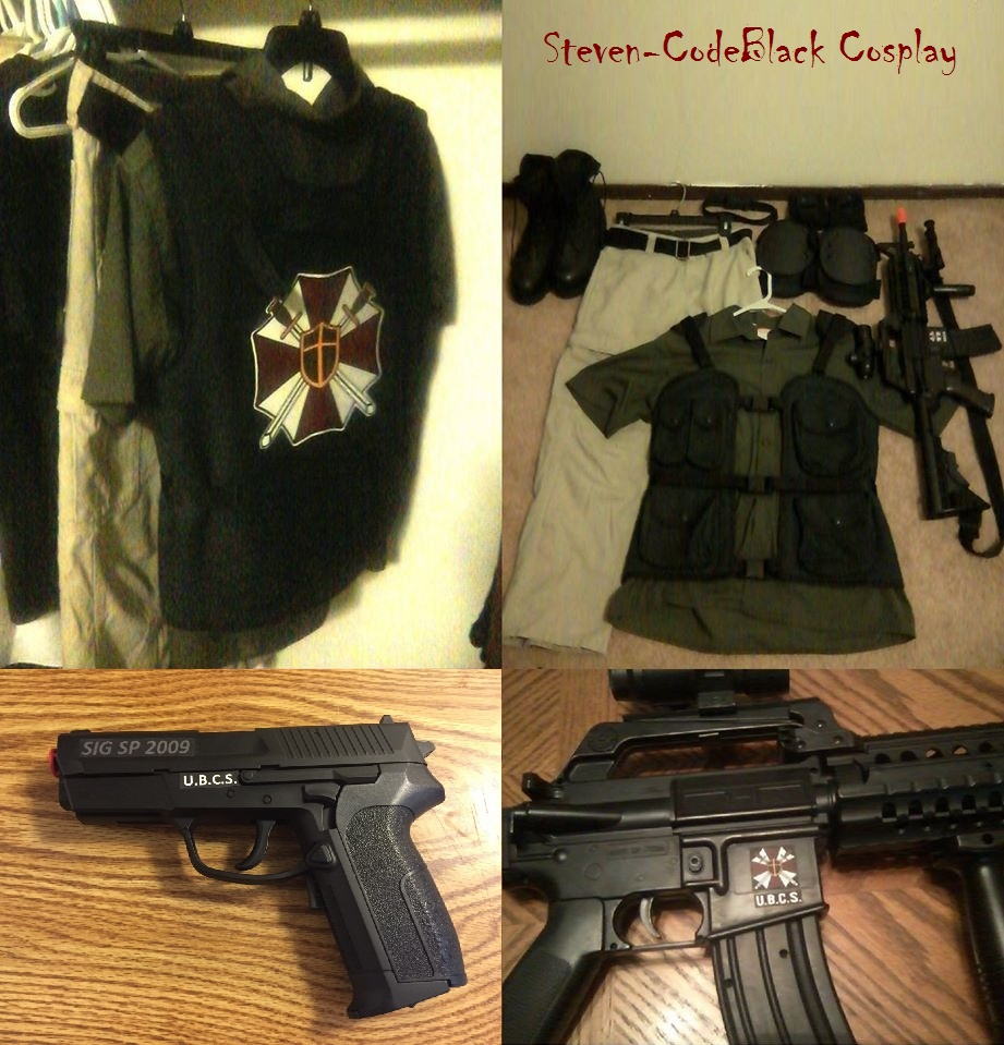 Re3 U B C S Uniform And Weapons Loadout By Steven Codeblack On
