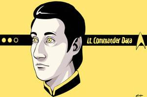 Lt. Commander Data by KalliasTheGreat