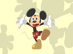 Mickey Mouse ( as I see him)