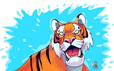 Tiger by WaniOWani