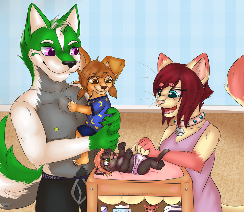 Our Little Family by Mirera